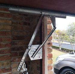 Double Garage Tilt Door (no Track) A Pair Of 200J Arm Sunshine Garage