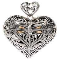 Tranquility Heart Pendant