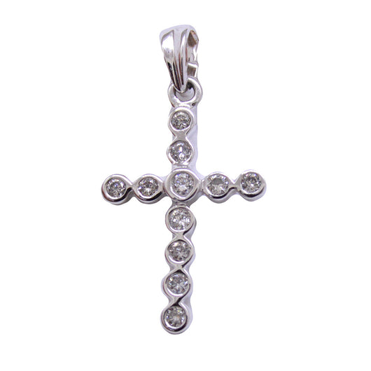 Cross with Diamonds