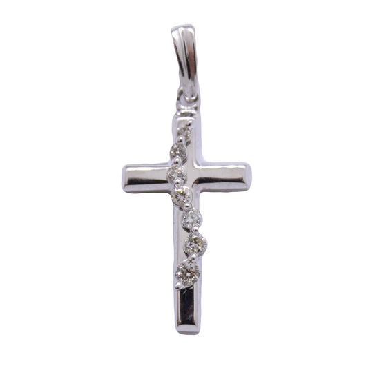 Cross with Diamonds in line