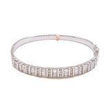 Designer White Diamond Bangle