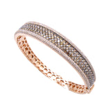 Brown Diamond Bangle