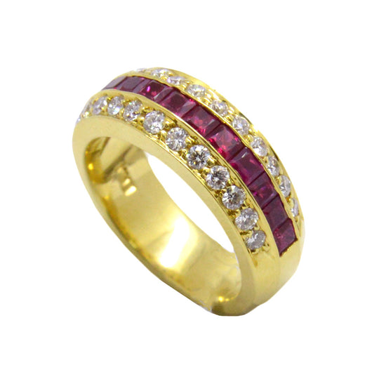 Solid Ruby Band