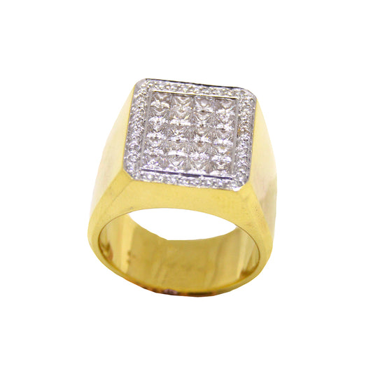 Squared Diamond Ring