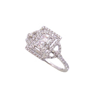 Asher Cut Fashion Diamond Ring