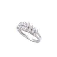 2 Row Tiara Diamond Ring