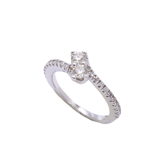 Together Solitaire Diamond Ring