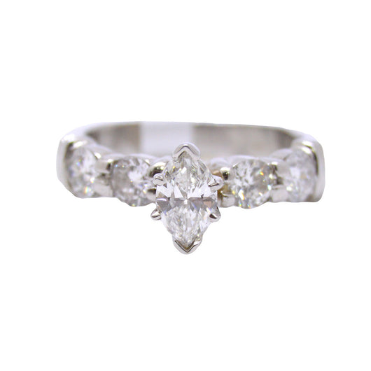 Tiffany Marquise Shape Diamond Ring