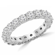 White Gold Eternity - Round Diamonds