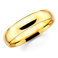 Gold Wedding Band - 6mm