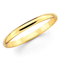 Gold Wedding Band - 3mm