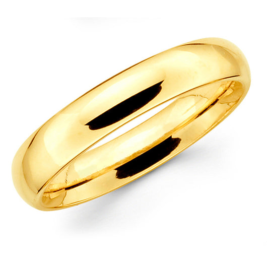 Gold Wedding Band - 5mm