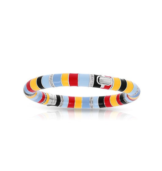 Cirque Red, Yellow, & Black Bangle