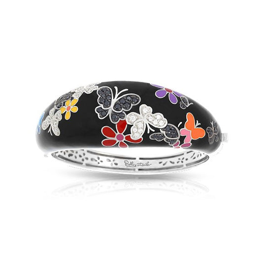 FLUTTER BLACK & MULTICOLOR BANGLE