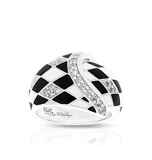 TIVOLI BLACK & WHITE RING