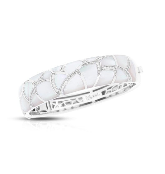 SIRENA WHITE MOTHER-OF-PEARL BANGLE