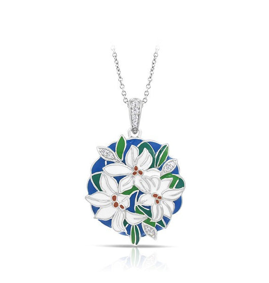 TIGER LILY BLUE PENDANT