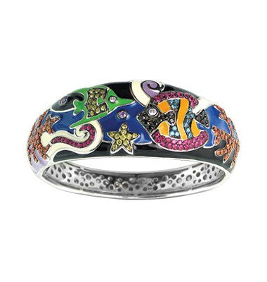 UNDER THE SEA BLACK BANGLE