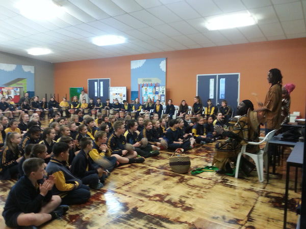 Whole school African drumming incursion