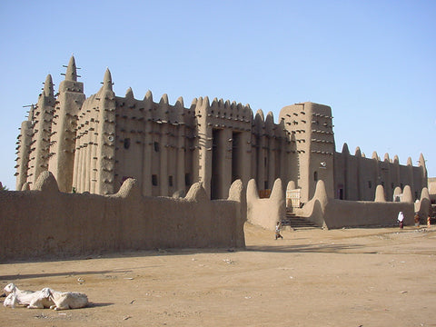 Mosque of Djenne in Mali West Africa