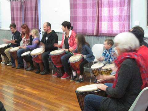 African drumming classes in Melbourne for students of all ages