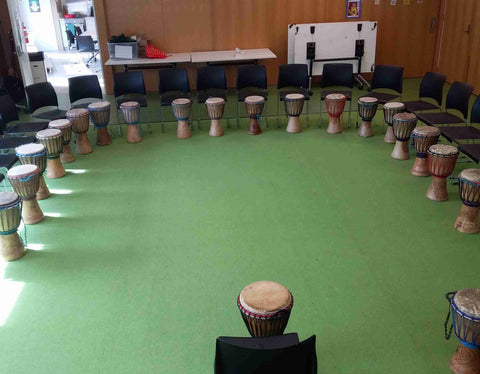 African drumming group therapy workshop