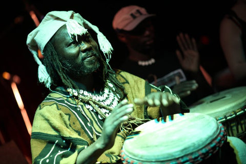 African drumming classes and workshops - with djembe drum Master Mady Keita