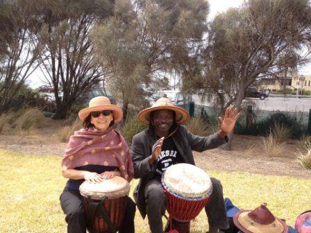 Private tuition in African drumming