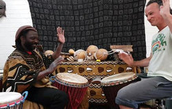 African Drumming Private Tuition - 1 Hour Private Class-Super Mande Percussion