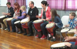 African Drumming Group Class - 1 x 1.5 Hour Casual Class - All Ages-Super Mande Percussion