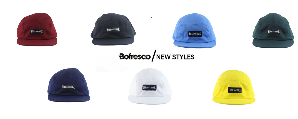 Bofresco Breaking 5 Panel Hats