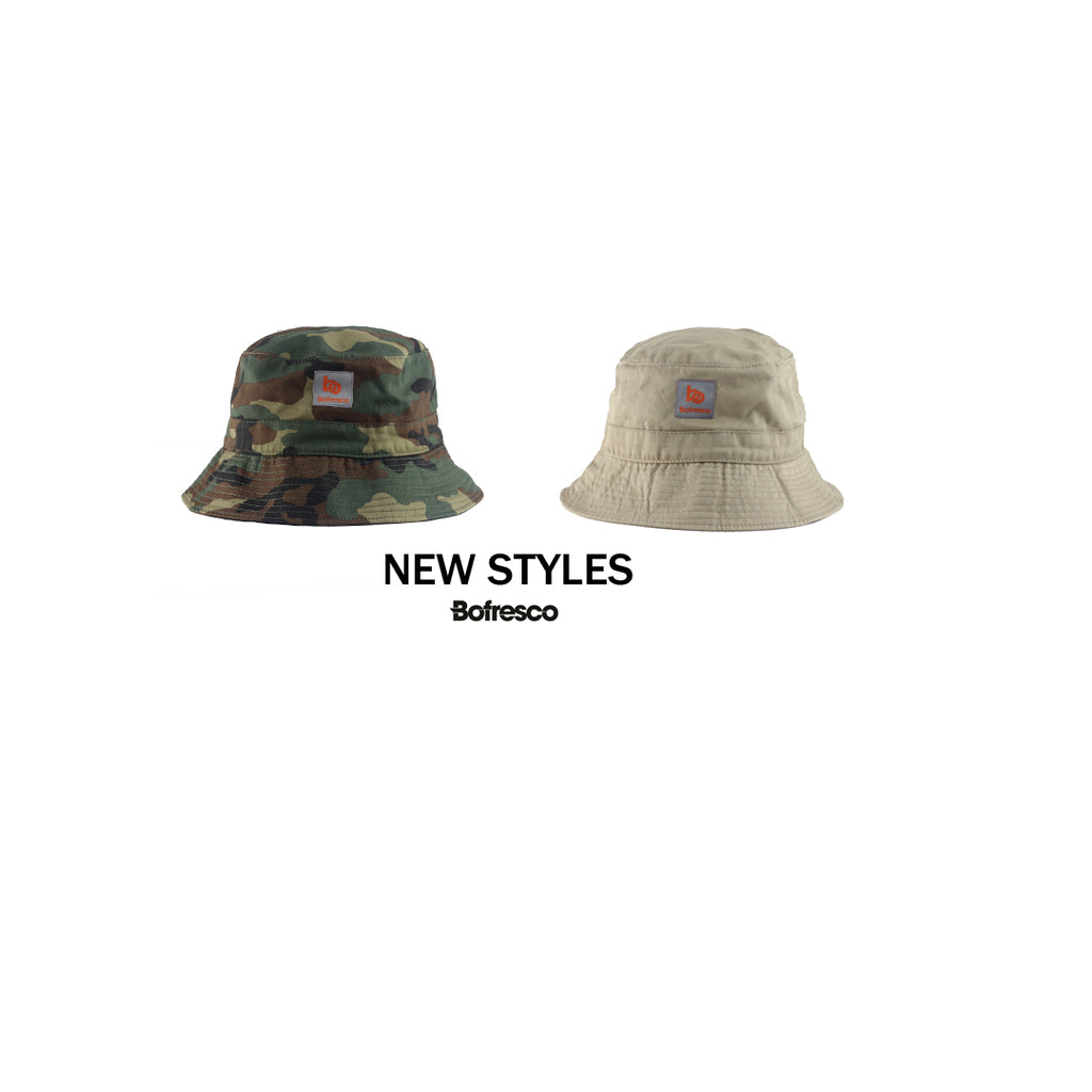 Bofresco Polo Bucket Hats