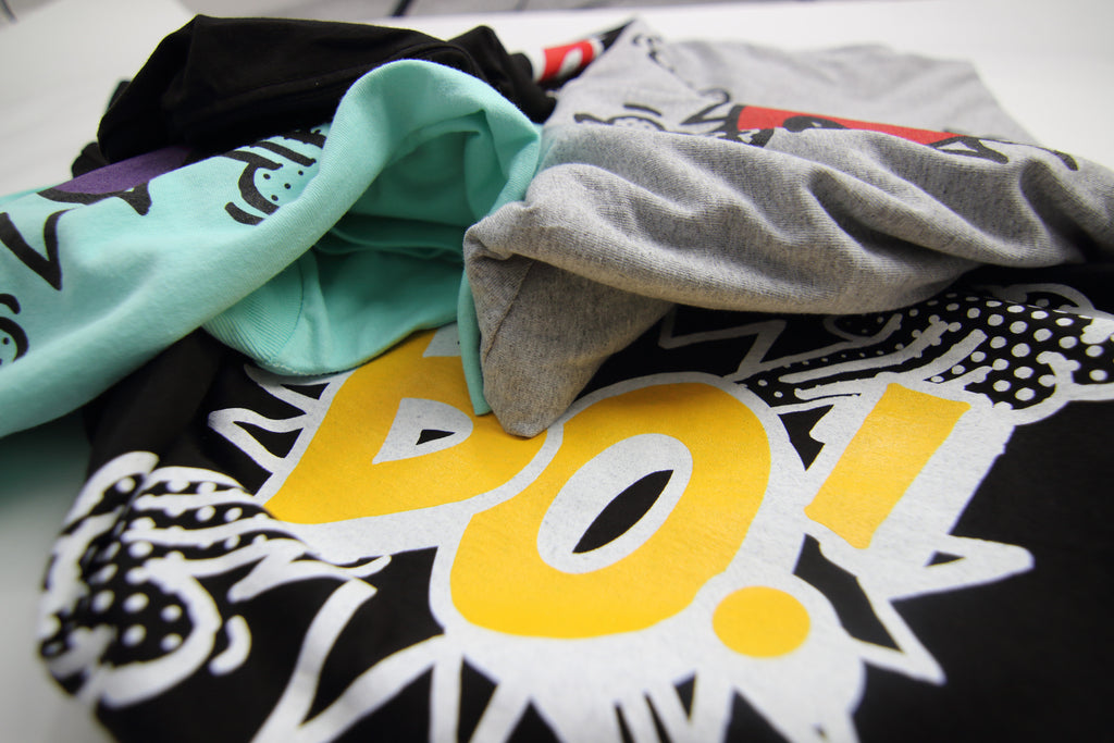 Bofresco has some newness in our online store ...BO! TEES
