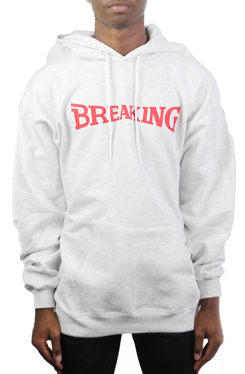 Bofresco Breaking Hoodie -Ash - Bofresco