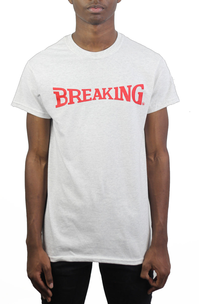 Bofresco Breaking Tee - Ash Grey - Bofresco
