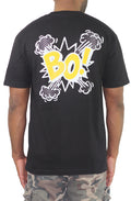 BO! Tee - Black/Yellow - Bofresco
