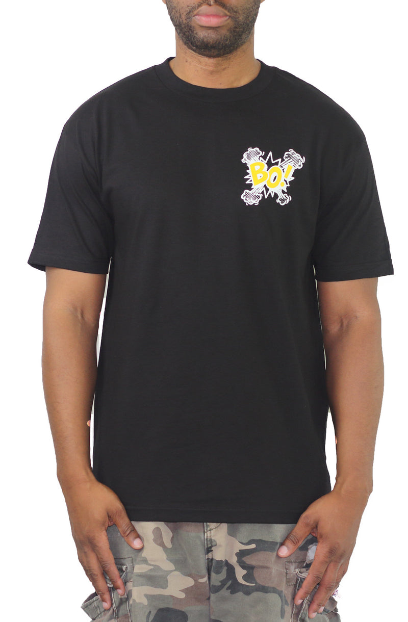 BO! Tee - Black/Yellow