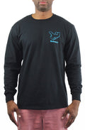 B-Boy Singature Air C*CK Long Sleeve Tee - Blue - Bofresco