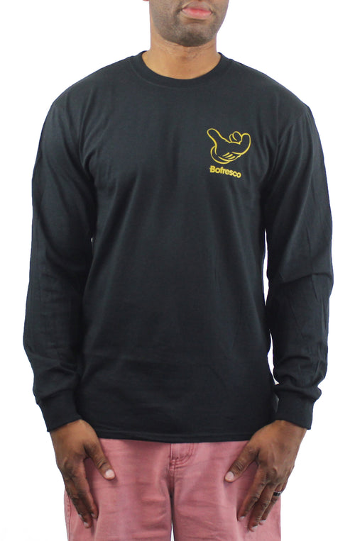 B-Boy Singature Air C*CK Long Sleeve Tee -Gold