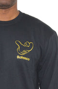 B-Boy Singature Air C*CK Long Sleeve Tee -Gold - Bofresco