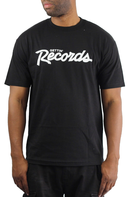 Bofresco Gettin Records Tee - Black - Bofresco