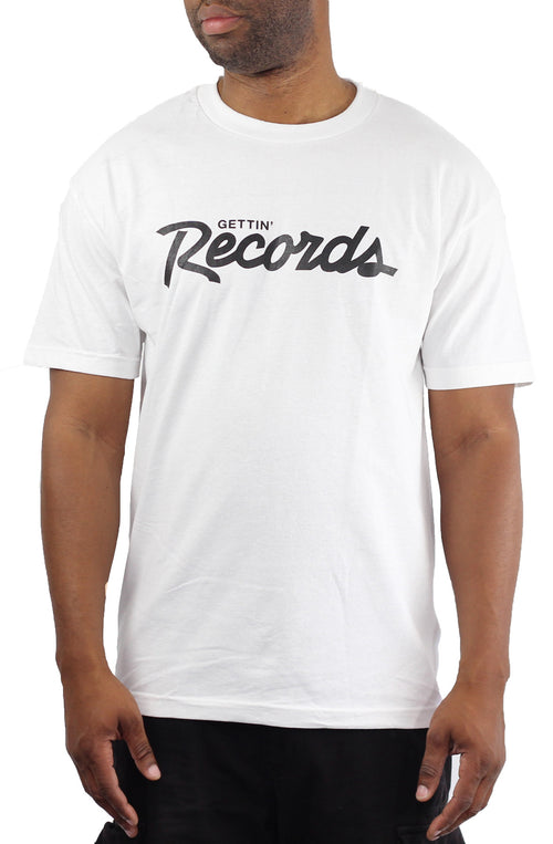Bofresco Gettin Records Tee - White - Bofresco