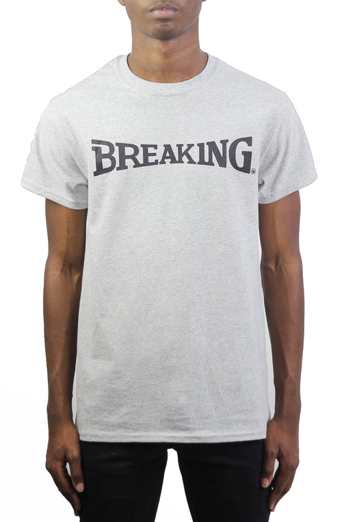 Bofresco Breaking Tee - Heather Grey - Bofresco