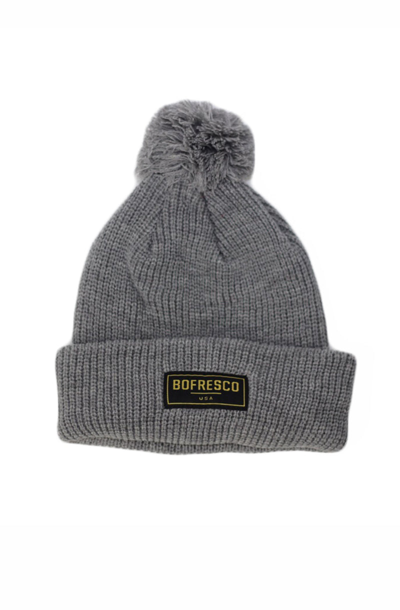 Bofresco U.S.A Pom Pom Beanie - Bofresco