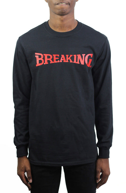 Bofresco Breaking LS Tee - Black - Bofresco