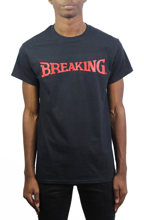 Bofresco Breaking Tee - Black - Bofresco