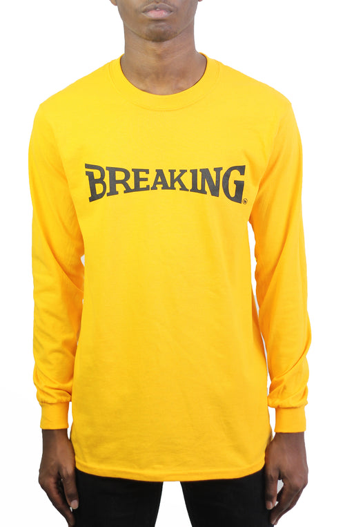 Bofresco Breaking LS Tee - Yellow - Bofresco
