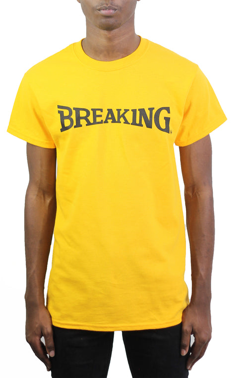 Bofresco Breaking Tee - Yellow - Bofresco