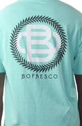 Bofresco Monogram T-Shirt Celadon - Bofresco