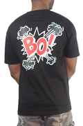 BO! Tee Black/Red